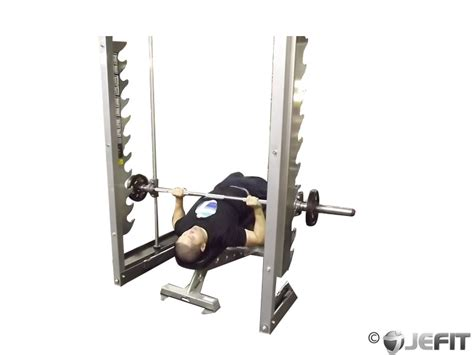 bench press with smith machine smith machine decline bench press exercise database