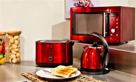 red kitchen appliances red appliances for kitchen stuff for my house pinterest