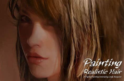 painting hair cgsociety tutorial how paint realistic hair rachael edwards