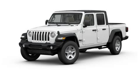 2020 Jeep Gladiator Engine Options by Configure Your 2020 Jeep Gladiator Truck From Base
