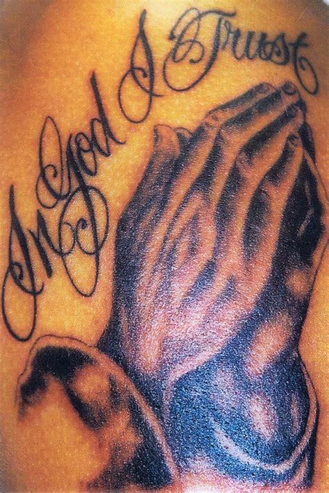 god hands tattoo tattoos praying