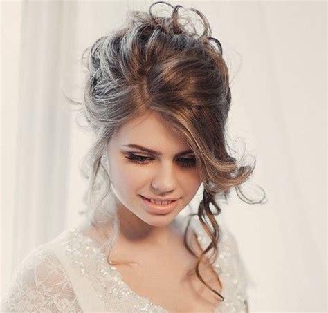 chic wedding hair updos  elegant brides