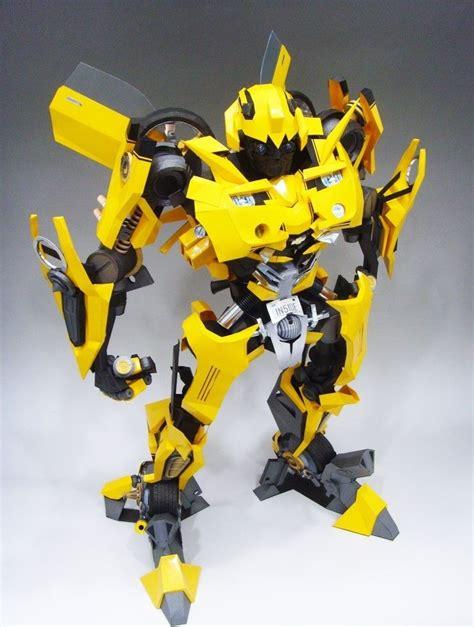 Papercraft Transformers Bumblebee - bumblebee papercraftsquare free papercraft