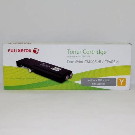 Fujixerox Docuprint Cm405df toner fuji xerox docuprint cm405df cp405d yellow