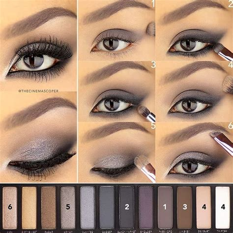 Smoky Pallete a saturday evening tutorial for this eye using
