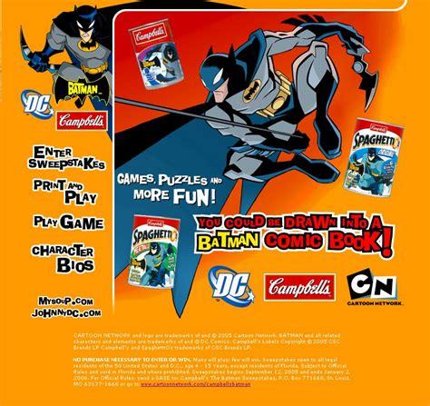 Comic Sweepstakes - the batman sweepstakes dc comics