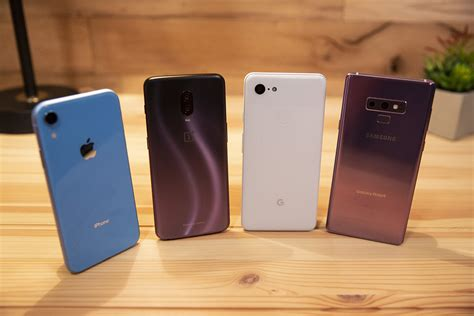 iphone xr vs note 9 pixel 3 xl and oneplus 6t a razor thin victory pcworld
