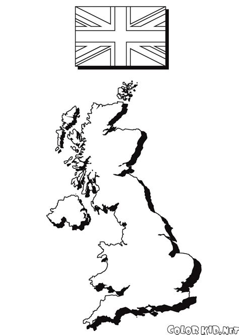 coloring pages for united kingdom coloring page the united kingdom