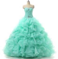 mint color quinceanera dresses vestido de 15 anos debutante color rosa mint green