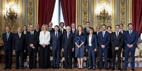 consiglio dei ministri italiano governo conte giuramento quirinale salvini di