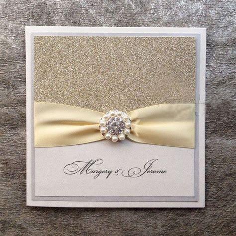 Wedding Invitations Handmade by Silver Glitter Wedding Invitations Handmade Invitations