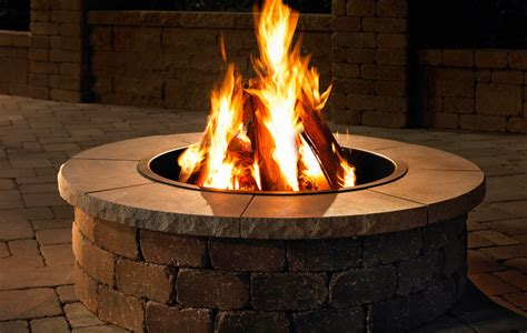 Grand Fire Ring Kit Necessories Kits For Outdoor Living Firepit Kits