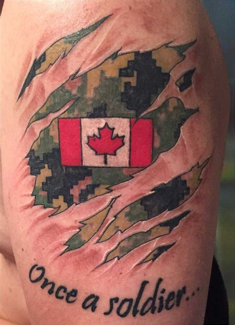 military tattoo canadian tattoos rcaf caf cadpat tattoos