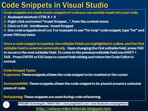 Tutorial Visual Studio Code C | sql server net and c video tutorial part 71 code
