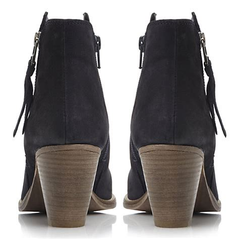 Totebag Boat Ori Dangmark buy dune pollie leather western style mid heel ankle boots