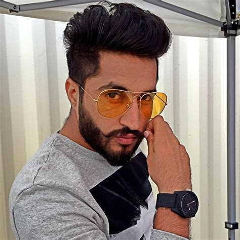 jassi gill new hair style punjabi hairstyle photo boy hairstyle ideas