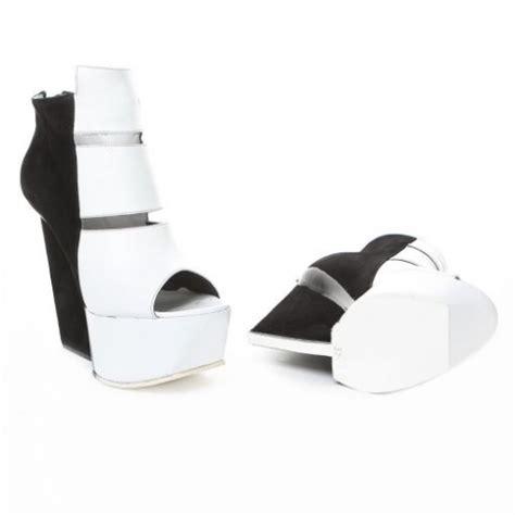 gareth puge black white platform shoes nitrolicious