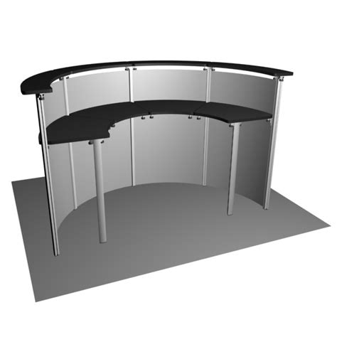 Exhibition Reception Desk Exhibit Line Reception Desk Rd45 4 Trade Show Desks