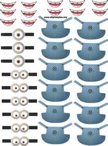 minion overall template free printable minion stickers for twinkies skip to my lou