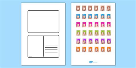 postcard template year 2 free blank postcard templates postcard writing template