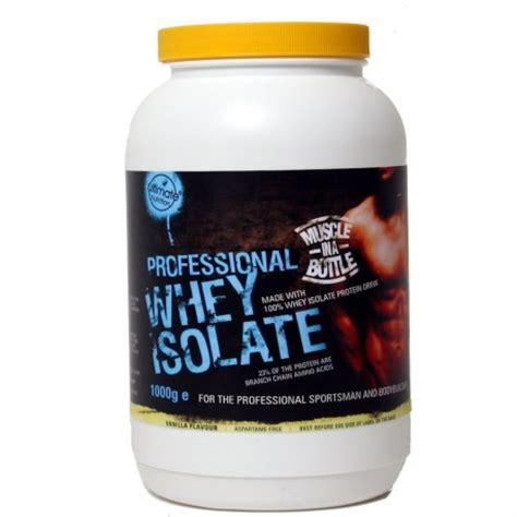 Whey Protein Isolate Ultimate prof whey isolate protein 1000g flavoured ultimate nutrition