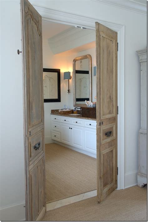 bathroom double doors double door to main bathroom idea