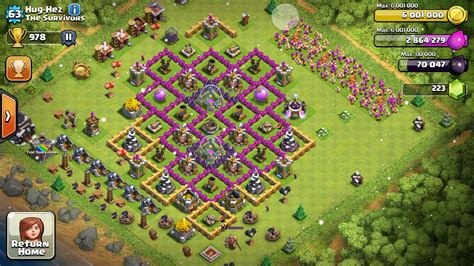 coc christmas layout xmas trees clash of clans myideasbedroom com