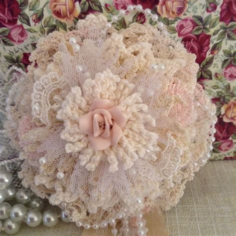 shabby chic flower a little shaby pinterest shabby flower and fabric flowers
