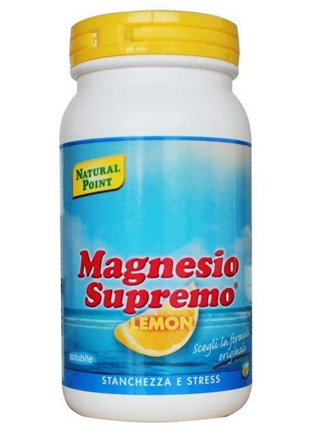 magnesio supremo polvere magnesio supremo in polvere gusto limone 150 g