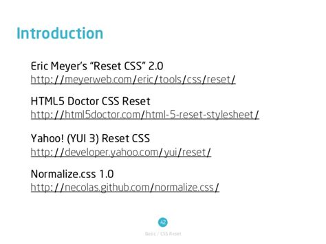 reset css tools 2 css layouts overview