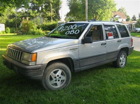 1994 Jeep Laredo Sell Used 1994 Jeep Grand Laredo Sport Utility 4