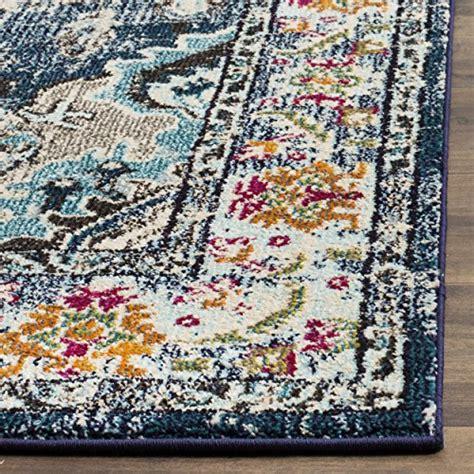 safavieh vintage rug collection safavieh monaco collection mnc243n vintage bohemian navy