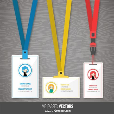 Id Card Template Freepik by Id Vectors Photos And Psd Files Free