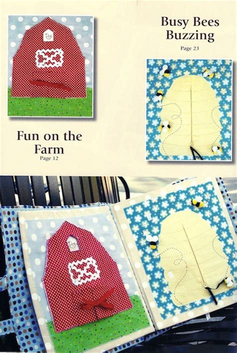 soft quiet book pattern sew baby
