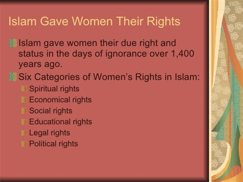 islamic bill of rights for women in the bedroom women in islam updated