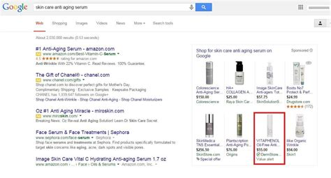 google testing  alert notice  google shopping ads search engine land