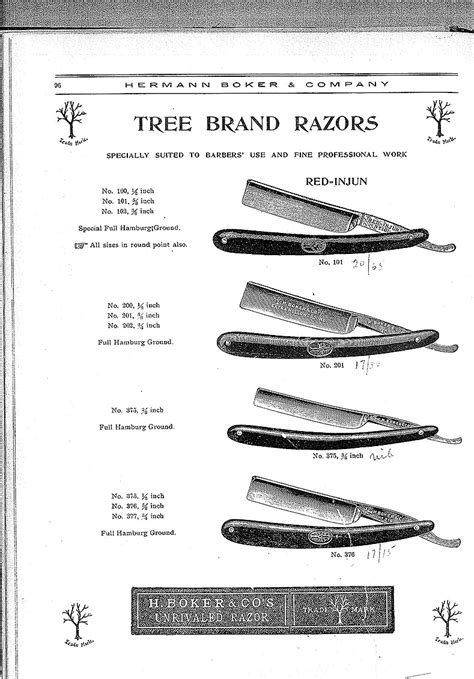 section razor h boker co catalog 1906 tomonagura com keith v