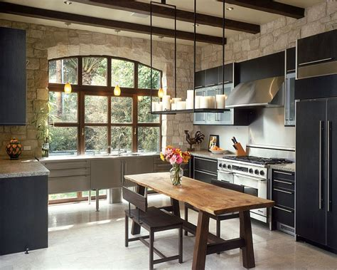 stone kitchen design 30 inventive kitchens with stone walls