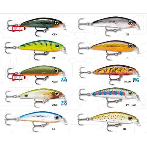 rapala ultra light minnow rapala ultra light minnow buy and offers on waveinn