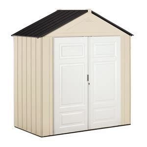 Resin Storage Shed Reviews by Rubbermaid Resin Storage Building 1821749 Reviews