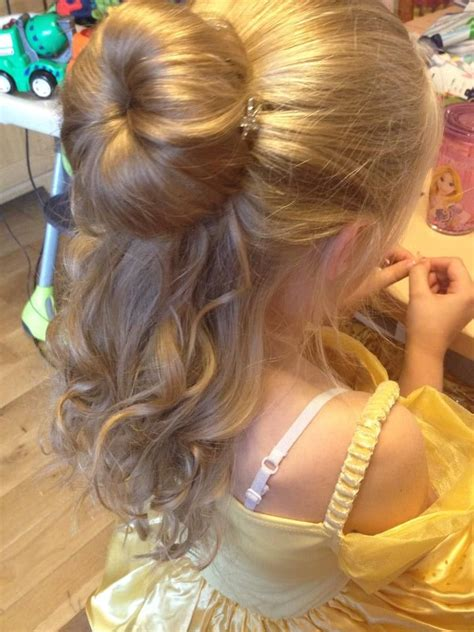 princess bun hairstyles how to hair pinterest updo princess belle inspired hairstyle super pretty a bun