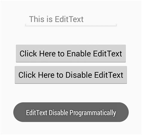 android edittext layout weight programmatically edittextdisable android exles