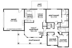 Floor Plan For Bungalow House by Bungalow House Plans Strathmore 30 638 Associated Designs