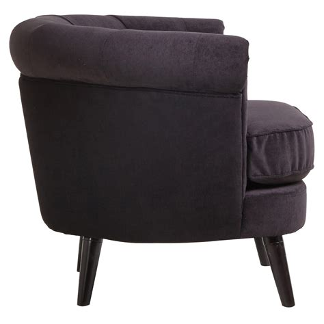 black armchair covers black armchair olivia design wooden frame fabric cover arm chair furniture ebay