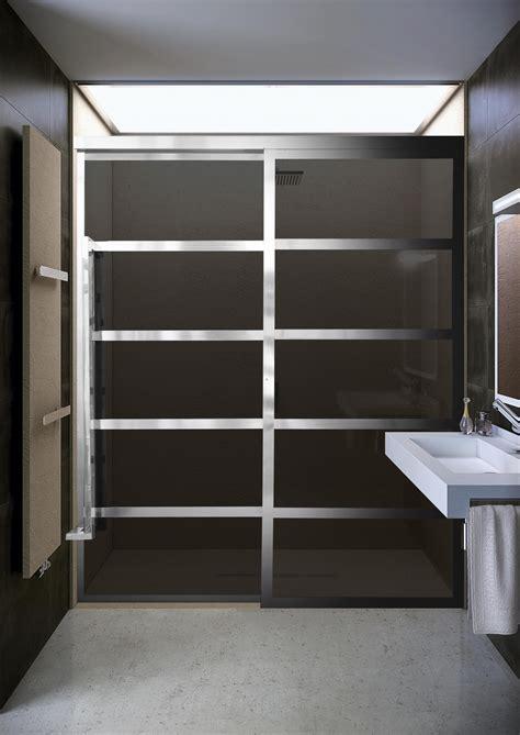 coastal shower doors  debut  gridscape gs barn door