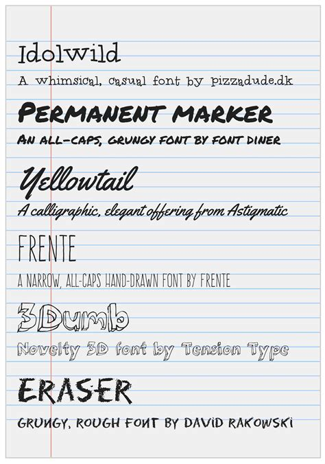 industrial design handwriting font handwriting fonts for document design