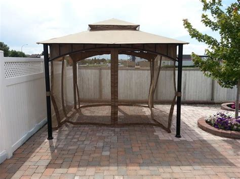 gazebo with netting northcrest gazebo with mosquito netting gazeboss net
