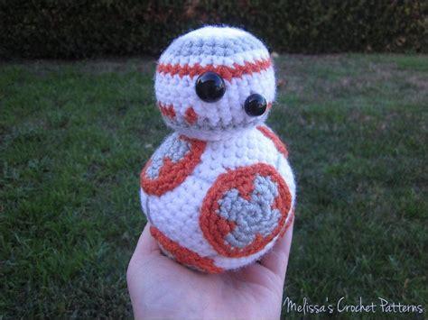 crochet pattern en español bb 8 from star wars crochet pattern by melissa s crochet