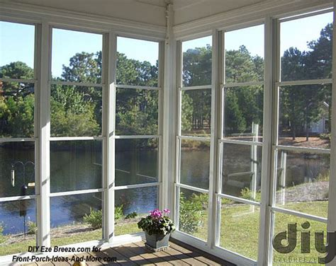 screen porch windows create comfortable porch enclosures - Veranda Windows