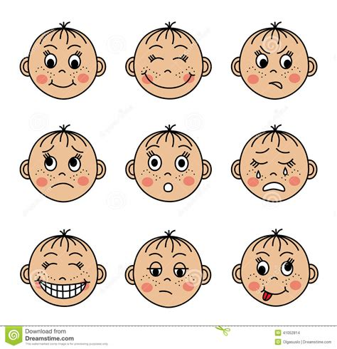 clipart emotions emotions clipart for kids collection